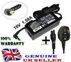 Genuine 19V 1.58A ACER ASPIRE One Laptop Charger Adapter KAV60 + UK Power Cord