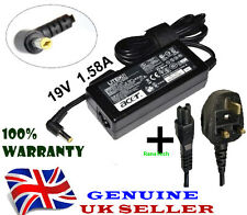 19V 1.58A For Acer Aspire one AOA150 Ac Adapter Charger EMACHINES EM250 EM350