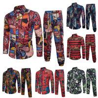 Business Mens Boy 2-Piece Suit Wedding Party Slim Shirt Blazer Jacket Tops Pants