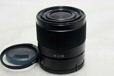 Sony FE 28mm F2 Lens for E-mount *Excellent*