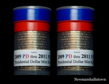 2009 2010 2011 P+D Positions A+B Presidential Dollar Mint Roll Set ~ No Proof S