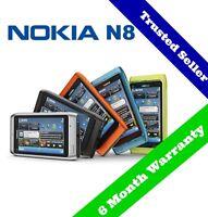 ~ ORIGINAL ~ 3G Nokia N8 Mobile SmartPhone | Unlocked | 16 GB | 6 Month Warranty