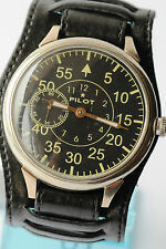 RUSSIAN AVIA PILOT Wrist Watch Poljot mechanical Vintage Soviet Caliber 3602