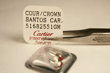 CARTIER Santos Cabochon 51682551 GM Red Ruby CROWN Factory Sealed - NEW SALE!