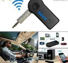 Wireless Bluetooth Speaker Car Receiver Adapter Mic AUX Audio Stereo Music 3.5mm