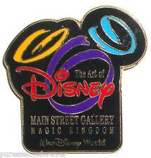 WDW The Art of Disney: Main Street Gallery (Black) Pin