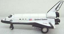 "Diecast Metal 4.5"" USA Pull Back Space Shuttle"