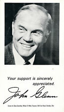 1974 John Glenn postcard Ohio OH for U.S. Senate