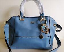 New Guess sky blue large satchel bag / shoulder bag + free charm