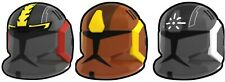 Custom COMM HELMET for Lego Minifigures -Pick Color! Star Wars Clones -Arealight