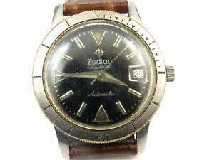 Gents Vintage Zodiac Seawolf Automatic Watch - 20ATM
