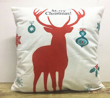 Christmas deer!Simple painting deer Home Decor sofa Cushion Covers Pillow Case