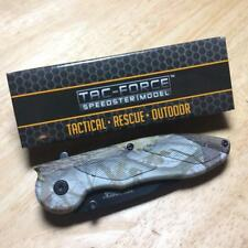 "Tac Force Camo Tactical Action Assisted 4 1/2"" Folding Knife Tf463Ca"