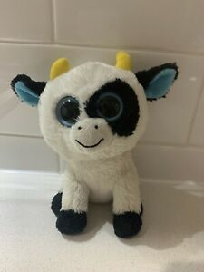 "Daisy Cow 6"" 15cm Solid Eyes Ty Beanie Boos"