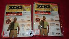 XGO MEN'S PHASE 2 MIDWEIGHT PANTS MOISTURE WICKING SAND ECW (2) XL NIP W45