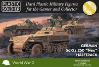Plastic Soldier WWII German Mini 15mm  SdKfz 250 'Neu' Halftrack New
