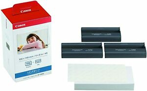 Canon KP-108IN Ink and Paper Set for Selphy CP Series Photo Printers