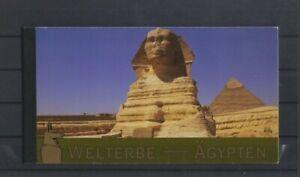 UN Vienna  2005 World Heritage Egypt  Booklet  MNH .. v slight rubbing edge