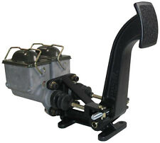 NEW FORWARD FLOOR MOUNT BRAKE PEDAL WITH MASTER CYLINDERS & BALANCE BAR