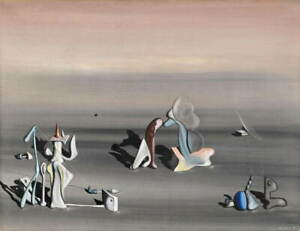 Yves Tanguy Untitled Giclee Art Paper Print Paintings Poster Reproduction