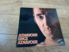 Charles Aznavour – Aznavour Sings Aznavour  LP Vinyl
