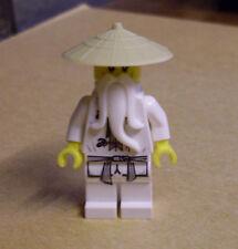 Lego Ninjago - Ninja - Sensei Wu ( 9446 Meister Master Hut weiss ) Neu