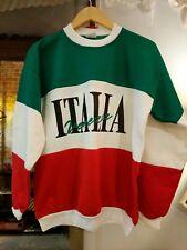 Vtg sweatshirt Italia veneria hiphop old school 80 90 unisex sz L Italy made RaP