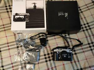 Olympus PEN-F - Silver (Body Only) Digital micro43 m43