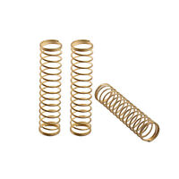 15pcs Spring Golden Brass Trumpet Parts Spring for Trumpet Repairing Replacement