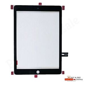 For 2019 iPad 7th Gen 10.2  A2197 A2198 A2200 TOUCH SCREEN DIGITIZER GLASS BLACK