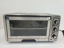 Cuisinart TOB-40 Stainless Steel Custom Classic Toaster Oven w Baking Pan