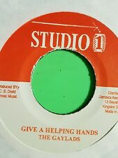 Studio 1-GIVE A HELPING HANDS/Never Let Your Country Down-The Gaylads