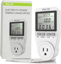 Us Electricity Monitor Power Energy Usage Meter Kill A Watt Single Tariff New