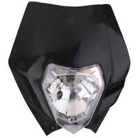 1X(Tete de Fourche Plaque Phare de Moto Route Enduro Universel pour Yamaha - GH