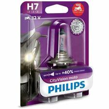Philips 12972CTVBW H7 CityVision Moto Motorbike Headlight Bulb(Single)