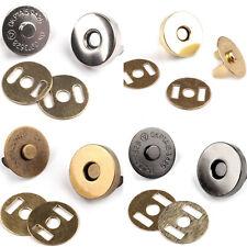 10 Sätze Magnetverschluss Druckknöpfe Magnet Knopf Nähen Handwerk
