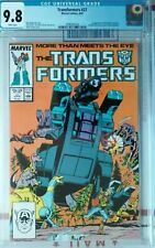 TRANSFORMERS 27 CGC 9.8 mint 1ST APP TRYPTICON AND RATBAT see my other listings
