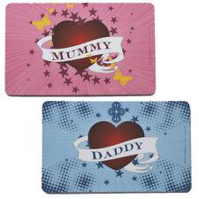 ♥ Brettchen Frühstück Mummy Daddy Mama Papa Geschenk Muttertag Vatertag 23x14cm