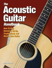 Balmer Acoustic Guitar Handbk Illustrated Buy Repair Maintain HB