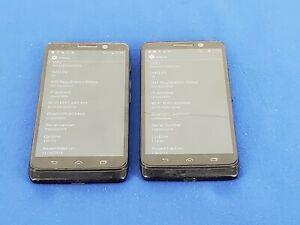 Lot of 2: Motorola Droid Mini XT1030 - 16GB - Black (Verizon) Smartphone M12