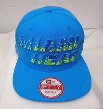 Miami Heats Men's New Era 9FIFTY M/L Snapback Cap Hat