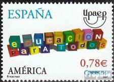 Spanje 4261 (compleet Kwestie) gestempeld 2007 Amerika: Onderwijs voor alle