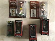 Tiger Woods Lot of 6 Rare Collector's Series Bobbleheads Upperdeck Masters PGA