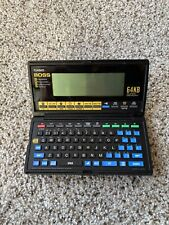 Casio BOSS SF-8000 64KB PDA Business Organizer Scheduling System