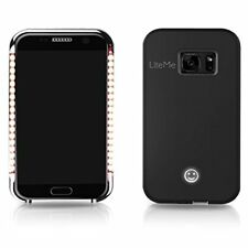 SereneLife LED +Power Bank Battery Case for Samsung Galaxy S7 Edge (Rose Gold)