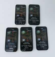 Lot of 5 Working Samsung Galaxy S Fascinate Smartphones for Verizon - SCH-I500