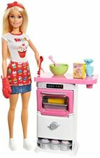 Barbie 900 FHP57 Bakery Chef Doll and Playset, Various Colours