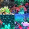 Remote Control LED Air Bubble Light RGB Submersible Aquarium Fish Tank Lamps