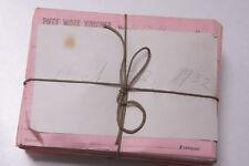 Oct 22 1932 Lamson Goodnow Piece Work Voucher Maunfacturing Pay Ephemera E42J