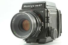 [ Exc+5 ] Mamiya RB67 PRO S + Sekor C 127mm F3.8 Lens + 120 Film Back From JAPAN